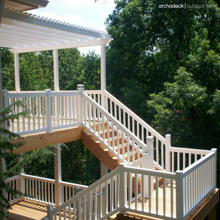 25 best ideas about two story deck on pinterest two for 3 story deck