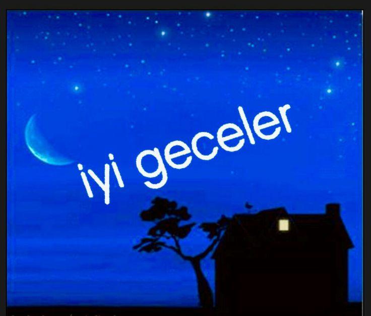 Картинки красивые, открытка спокойной ночи на турецком