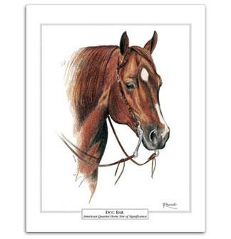 Doc Bar - American Quarter Horse foundation cutting stock