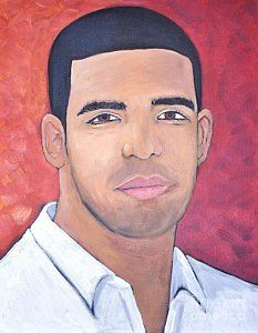 Painting - Drake by Reb Frost