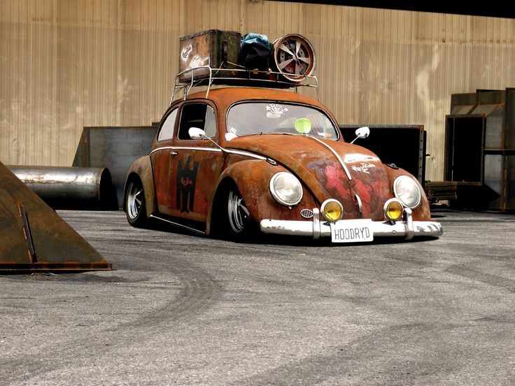 VW Bug Hoodride: Vw S, The Ponds, Cars カー, Vw Beetles, Vw Bugs, Ratrods, Rats Rods, Bugs Hoodrid, Ws