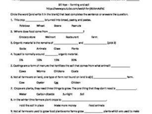 Printables Soil Conservation Worksheet 1000 ideas about soil conservation on pinterest worms bill nye the science guy farming and video worksheet by bmw2182 teaching resources