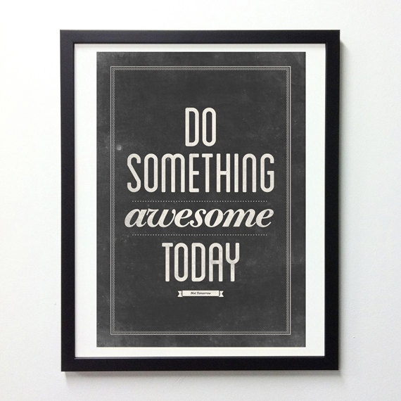 Motivational Typography Poster Uncovet
