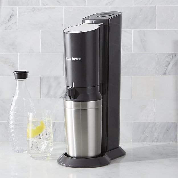 014 A Sodastream Crystal Home Soda Maker Because Soda Syphons Are Dinosaurs Sodastream Makes The Best Co Crystals In The Home Soda Makers Crate And Barrel