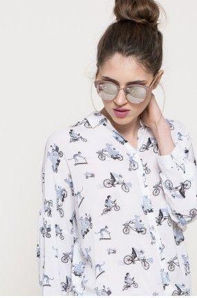 Medicine - Koszula Bike Belle kolor multikolor RS17-BDD880 - oficjalny sklep MEDICINE online