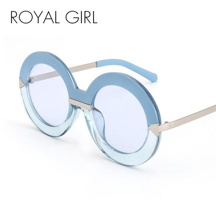 ROYAL GIRL Newest Luxury Brand Designer Sunglasses Women Round Arrows  Sun Glasses Fashion Round Glasses Oculos De Sol ss503