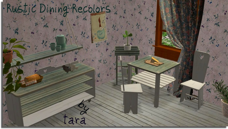 Tara - Tinhouse Rustic Recolors