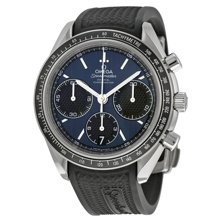 Omega Speedmaster Racing Automatic Chronograph Blue Dial Men's Watch 32632405003001 - Speedmaster - Omega - Watches  - Jomashop