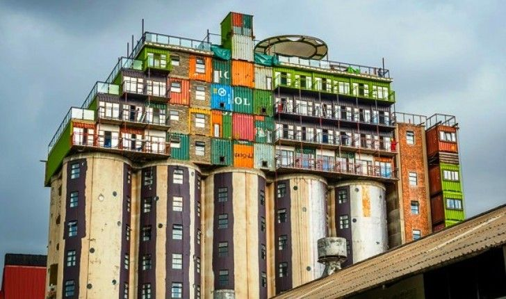 From Grain Silo to Shipping Container Student Housing
