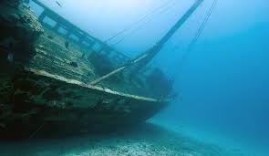 Het wrak van de SS Ozama