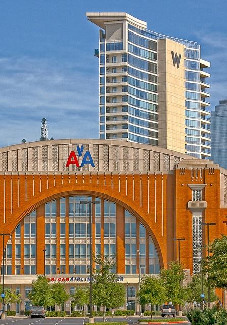 American Airlines Center - home of the Dallas Mavericks and Dallas Stars