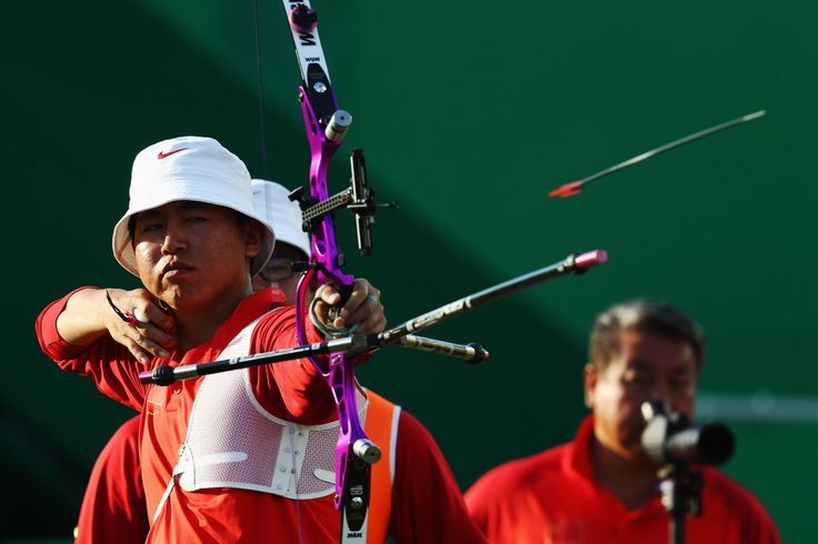 Day 1: Archery Men's Team - Yu Xing of China