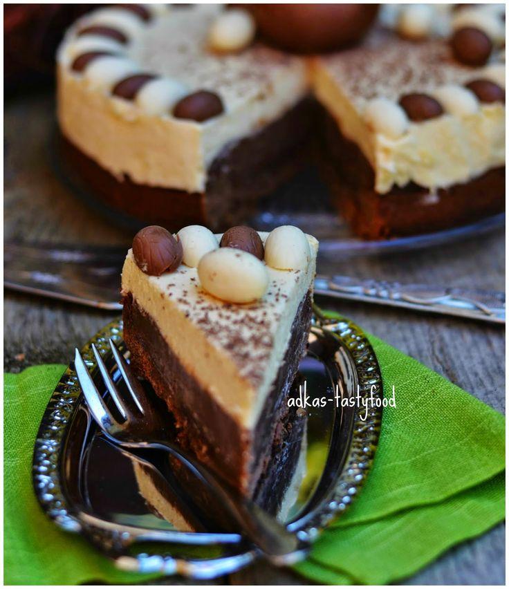 .. chute a vône mojej kuchyne...: Nutellová torta s citrónovou penou