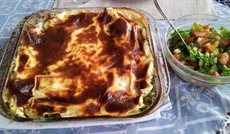 En mättande lasagne som nästan är godare andra värmningen än när det kommer direkt från ugnen. Stort plus är att den är billig.