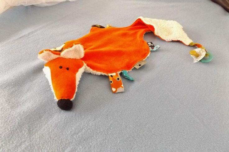 larifox **verfuchstundzugenäht**: Ein Krokodil bleibt nicht gern allein - Fuchs und Esel kommen dazu - oder auch Schnullertücher für alle ;-)