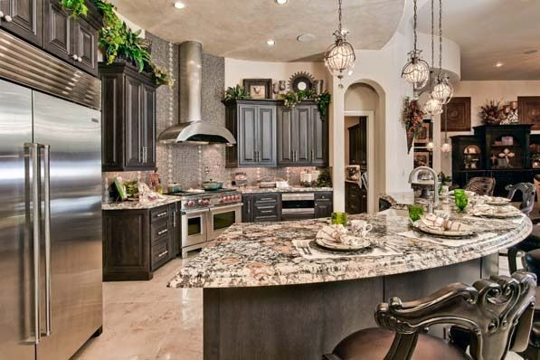 Kitchens Luxury Kitchens With Dark Cabinets Kitchens 2016 Cabinets Amp