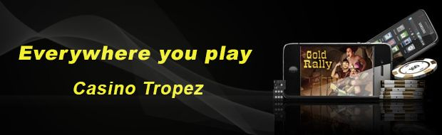 Win your paycheck on the go when you begin with #CasinoTropez phone. Exploit a remarkable 110% #depositbonus with a 50% discount on all of your losses and play all your favorite games on your #smartphone anywhere you go. http://www.casinoswithbonus.co.uk/casino-tropez-promotion/