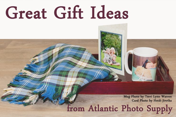 Tons of great custom photo products available.