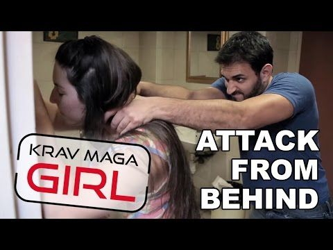 Krav Maga Girl | How to Defend Yourself from a Frontal Choke - YouTube