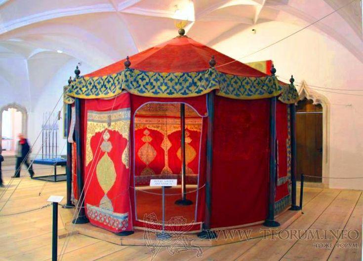 Bavarian Army Museum --military tent (Németország) | www.mohacsi-csata.hu