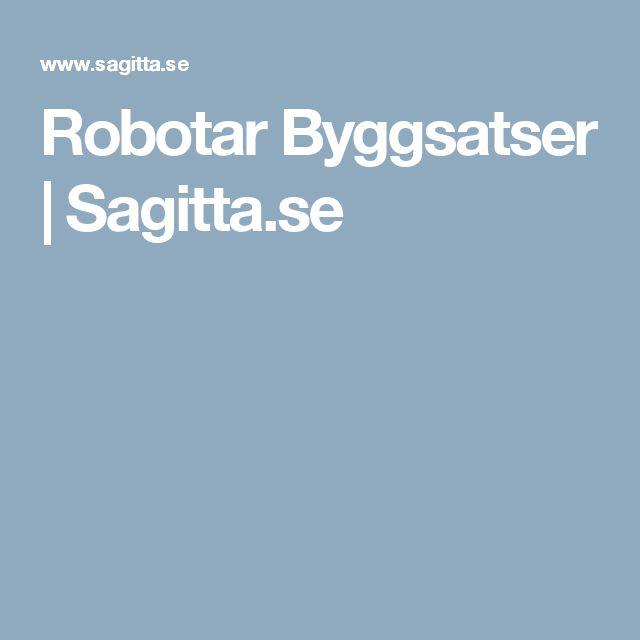 Robotar Byggsatser | Sagitta.se