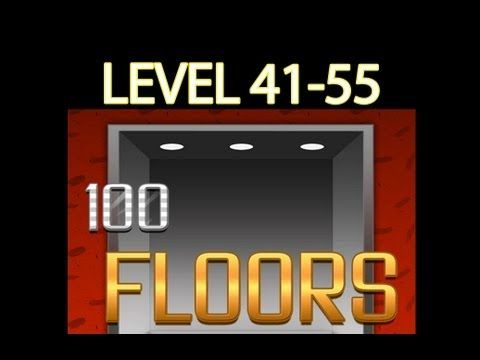 100 Floors Walkthrough Levels (41-55)