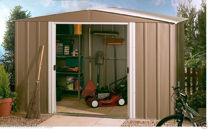 Arrow Metal Sheds:8' x 8' Backyard/Garden Shed Kit:Outdoor Small Yard Storage $110~$240