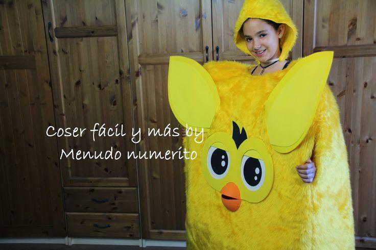 """El blog de """"Coser fácil y más by Menudo numerito"""": Cómo hacer un disfraz de Furby"""