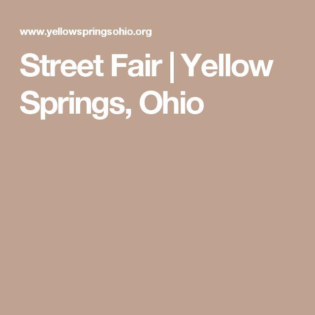 Street Fair | Yellow Springs, Ohio