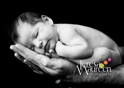 Newborn photo shoot tutorial