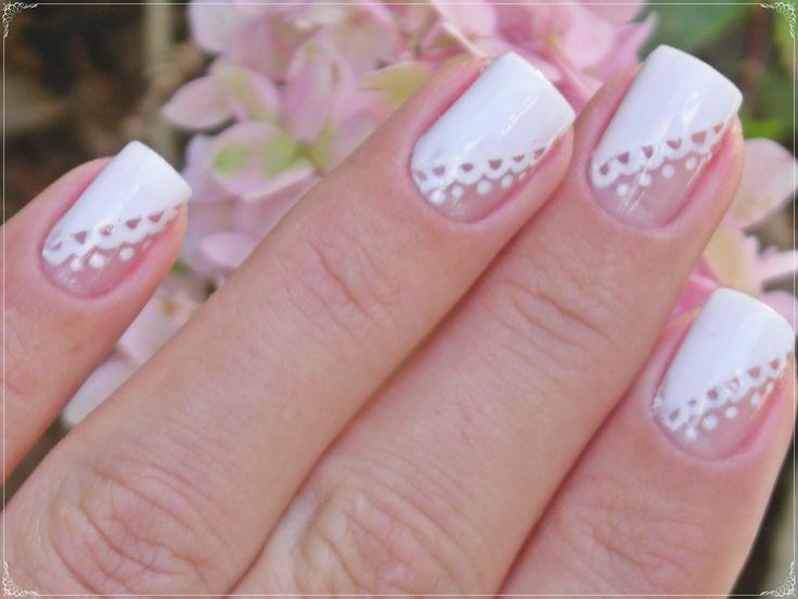 Nail art francesinha | por Mhilka ♥ #nail #nailart #unha #unhadecorada #dots