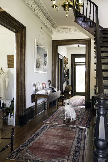 Modern Victorian Foyer : Best images about beautiful staircases entries on