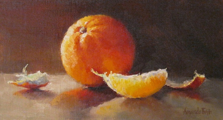luminous orange - Amanda's Paint Blog: November 2010