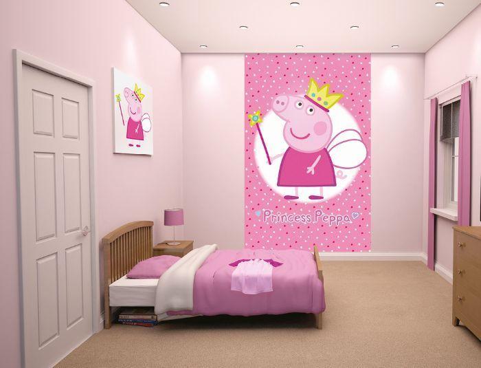 pig peppa murals princess wallpapers homewallmurals