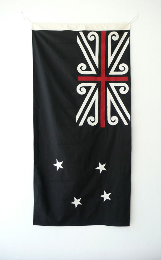 New New Zealand flag design. By Mike Davison.