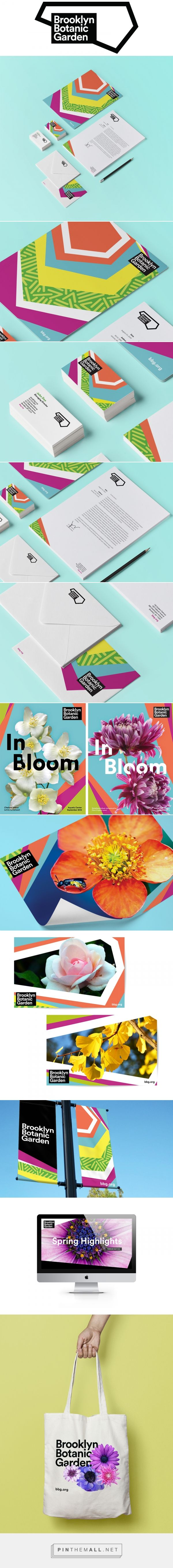 Inspiración para diseñar tu marca personal. Brooklyn Botanic Garden on Behance | Fivestar Branding – Design and Branding Agency & Inspiration Gallery http://jrstudioweb.com/diseno-grafico/diseno-de-logotipos/