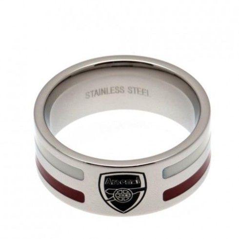 Arsenal F.C. Colour Stripe Ring Medium