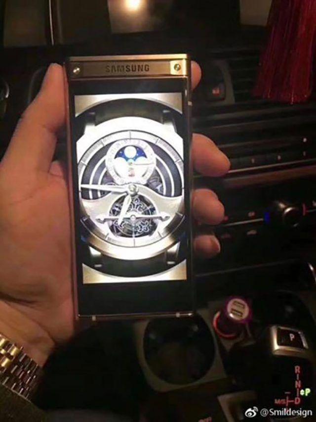 Samsung : le prochain téléphone à clapet haut de gamme en fuite