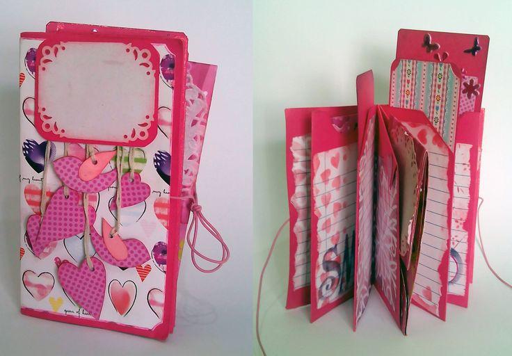 mini journal for a teen girl