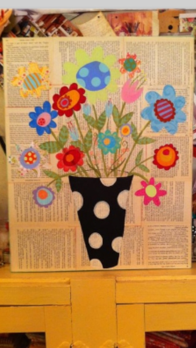 Crafts Using Old Books Decopage