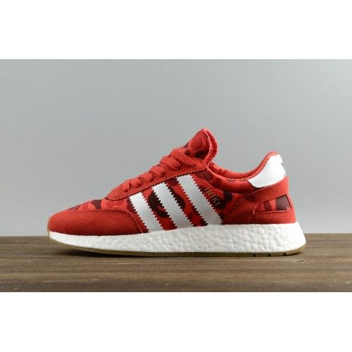 Cheap Adidas Iniki Runner - New adidas Originals Iniki Runner Boost Red  White Gum Mens Shoes Cheap