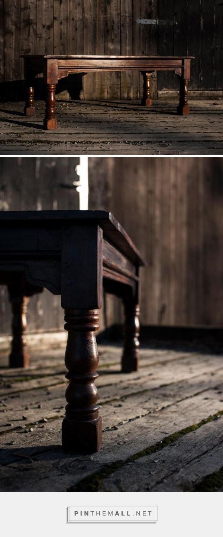 Oro/Dark Wood Salongbord, 120x60x45 750,-
