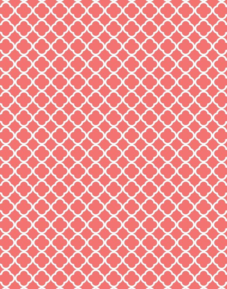 quatrefoil pattern background - photo #12