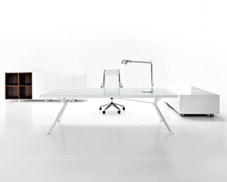 32 Minimalist Home Offices: The Most Modern, Artistic And Stylish Youll  Everu2026 Find This Pin And More On White Office Furniture ...