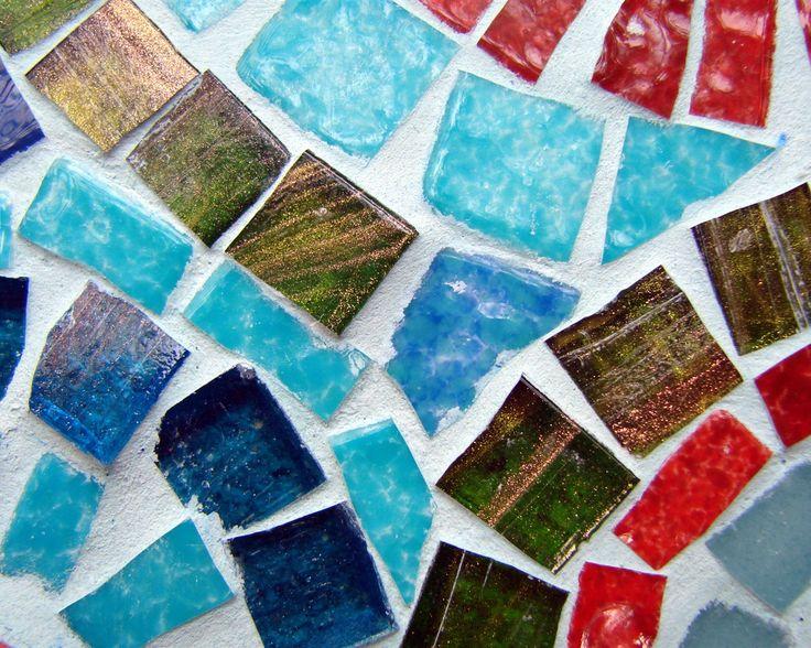 Мозаика, камни, цветы, красочные Обои - 1280x1024