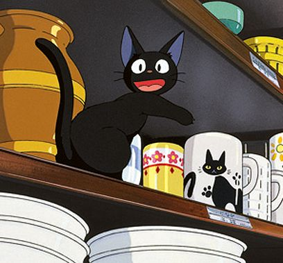 魔女の宅急便  ジジ  Jiji from Kiki's Delivery Service