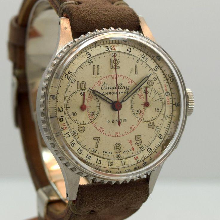 1946 Vintage Breitling Chronomat Stainless Steel Ref. 217021