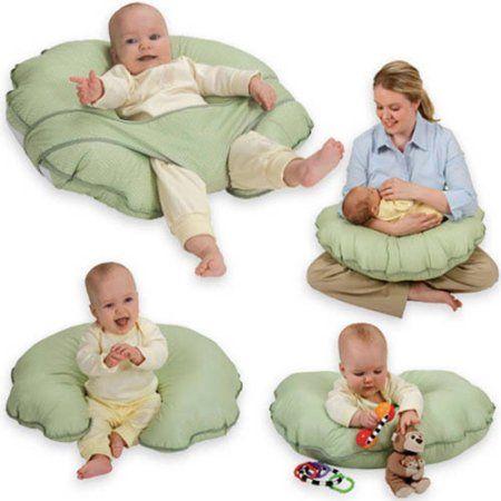 Leachco - Cuddle-U Basic Nursing Pillow and More, Sage Dots - Walmart.com