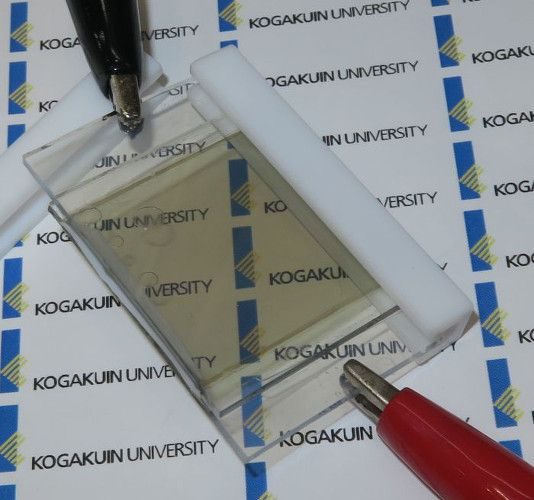 Lee La batería de ion de litio transparente que se recarga con la luz