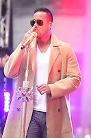 NEW YORK, NY - APRIL 27: Romeo Santos performs on NBC's Today Show Concert Series at Rockefeller Center on New York City on April 27, 2015. Credit: RW/MediaPunch